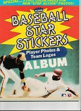 1985 FLEER Baseball Star Sticker Album