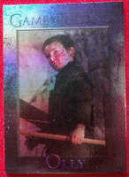 GAME OF THRONES Season 4 FOIL PARALLEL Card #97- OLLY - Rittenhouse 2015