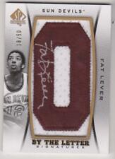 2012-13 SP AUTHENTIC BY THE LETTER SIGNATURE FAT LEVER 18/50