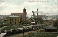 Ft. Wayne IN Wayne Knitting Mills c1910 Postcard