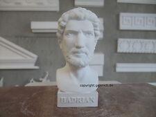 HADRIAN(US) PUBLIUS AELIUS GIPS BÜSTE RÖMISCHER KAISER von 117-138 n.Chr. SCHÖN