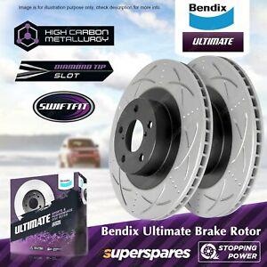 Bendix Front Brake Rotors for Subaru Impreza GF GC GD GG Forester SG SH SJ BRZ