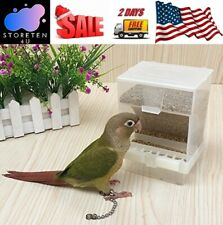 Parakeet Canary Automatic Bird Seed Food Feeder No Assembly Convenient and Quick