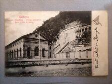 Cartolina Sondrio MORBEGNO impianto idroelettrico viaggiata 1901      13/6/16