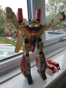BANDAI  G1 JETFIRE TRANSFORMERS 1984 WITH ALL 9 ARMOUR AND BOOSTER PIECES