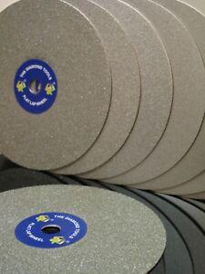 8 Inch THK Diamond Flat Lap wheel Lapidary grinding polishing disc Grit 60 ~3000