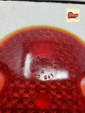 Vintage 1932 Ford Cars K-D Triflex 261 Red Glass Tail Light Lamp Lens 3 3/4""