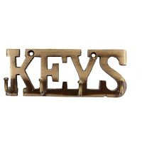 Key Holder Rack Antique Key Chain Hanging Holder Hanger For Home & Office