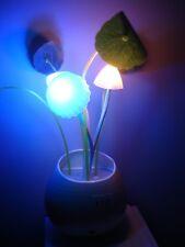 Decor Light Wall Plug LED Mushroom Night Light Energy Saving Light Sensor.