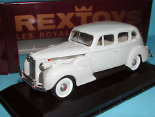 Rextoys 1940 Packard Super Eight 8 Grey Diecast 1/43 Rare Gray