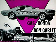 1966 FORD MUSTANG/1969 DODGE CHARGER RT/HEDMAN/HOOKER-M/T-CRAGAR HEADERS/EXHAUST
