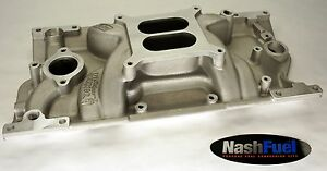 HOLLEY WEIAND 8121 SMALL BLOCK CHEVY VORTEC INTAKE MANIFOLD 1957-2000 1996-2002