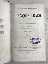 Astronomie Populaire Francois Arago French Antique Astronomy Book Science