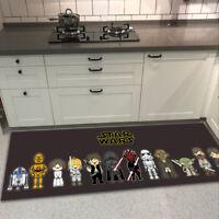 Star Wars Cute Velboa Floor Rug Carpet Doormat Bedroom Kitchen Non-slip Mat #2