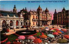 CPA Monte Carlo-Place du Casino et Hótel de Paris (234361)
