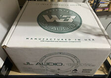 "JL AUDIO 12W3V3-4 12"" 1000W 4 OHM W3 V3 CAR BASS STEREO SUB WOOFER BARELY USED"