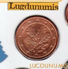 Allemagne 2005 5 centimes G Karlsruhe BU FDC provenant coffret 85000 exemplaires