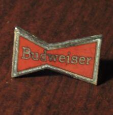 Vintage Budweiser Bowtie Logo Beer Hat Lapel Pin