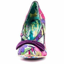 Court Casual Floral Synthetic Heels for Women