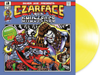Czarface Meets Ghostface MF Doom Food Madlib Limited Bright Yellow Vinyl LP /500