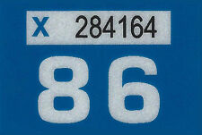 1986 WASHINGTON Vinyl Sticker Decal -CAR or TRUCK License Plate Reg. TAB TAG-New
