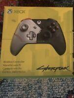 Xbox Wireless Controller – Cyberpunk 2077 Limited Edition.