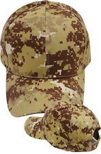 Desert Digital Camo Ball Cap MARPAT Type USMC Navy Marine Corps Army Veteran Hat