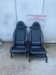Smart Car Fortwo 450 MK1 PAIR OF LEATHER HEATED SEATS