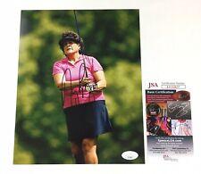 Nancy Lopez Signed 8x10 Photo JSA COA LPGA
