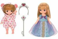 Licca chan dress Miki Maki Dress Set (Princess & pajamas) (No Doll)