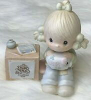 Vintage Precious Moments Collectors Club Figurine 1983 Join In On The Blessings
