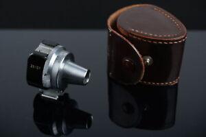 Leitz Wetzlar VIOOH universal viewfinder for Leica 35-135mm lenses, in case ✅