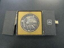 Rare Birks 1939 Vancouver Exhibition Assoc Silver Medal 1st Prize Stamp Exhibit