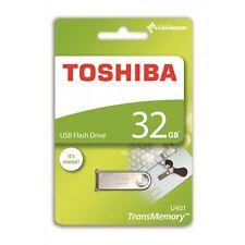 Toshiba 32GB TransMemory U401 USB2 Metal