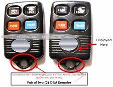 Lot keyless entry Coogar F5DZ15K601B remote control transmitter key fob clicker