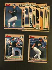 1996 Bowman Oakland A's Athletics Team Set 12 Cards