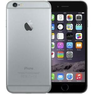 APPLE IPHONE 6 64 GB Grey Nero Grado A+ Usato Ricondizionato Rigenerato