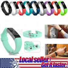 For Fitbit Alta New Soft Replacement Silicone Wrist Band Strap Clasp Buckle x
