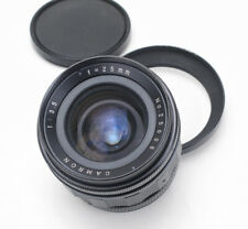 Cambron 25mm 3.5 Exakta T Mount Manual Focus Pre-Set Wide Angle Prime Lens