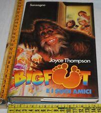 THOMPSON Joyce - BIGFOOT E I SUOI AMICI - Sonzogno - libri usati