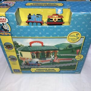thomas and friends Take Along Tidmouth Sheds Remises Tidmouth