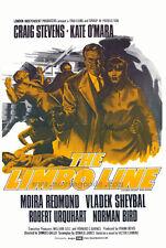 THE LIMBO LINE Movie POSTER 27x40 Craig Stevens Kate O'Mara Moira Redmond Vladek