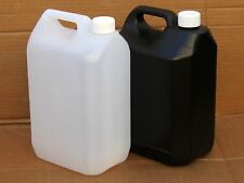 2pcs Darkroom Chemical Storage Bottles - 5L Jerry Can (Black or Opaque)
