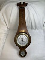 Vintage TAYLOR Instruments Barometer- Thermometer Weather Station Banjo Mahogany