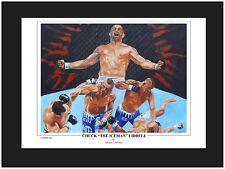 UFC Chuck Liddell Art Print By Patrick J Killian
