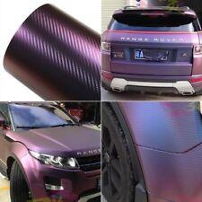 600x1520MM Blue-Purple Vinyl Wrap Color Change Sticker Air Realease Bubble Free