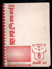 1938 Spokane WA Lewis and Clark High School Yearbook~Photos~History~Sports~++++