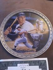 Mickey Mantle Bradford Exchange Collector Plates Lot(2) New York Yankees