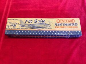 Cleveland North American F-86 Sabre Flight Engineered Flying Model Kit IT-120
