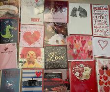Wholesale Joblot Bundle Valentines Cards X 30 Funny Humour Cute Etc